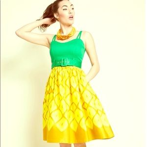 "NWT Collectif ModCloth ""Pin-Up Colada"" dress"